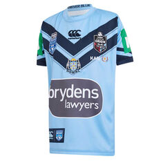 NSW Blues 2019 Kids Jersey Blue 8, Blue, rebel_hi-res