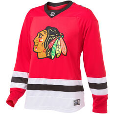 Chicago Blackhawks Mens Replica Jersey Red S, Red, rebel_hi-res