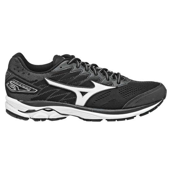 Mizuno Wave Rider 20 Mens Running Shoes Black   White US 10  1d447153c7204