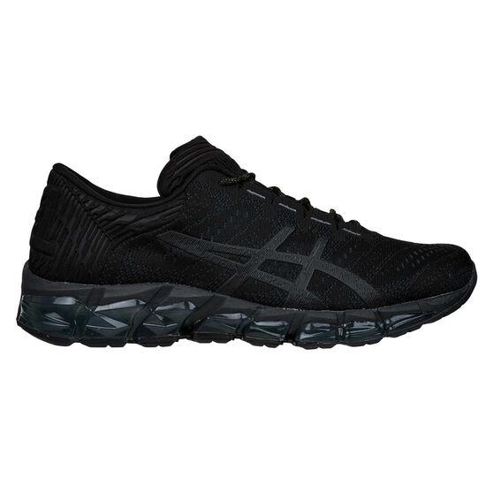 Asics GEL Quantum 360 5 Jacquard Mens Running Shoes, Black / Yellow, rebel_hi-res