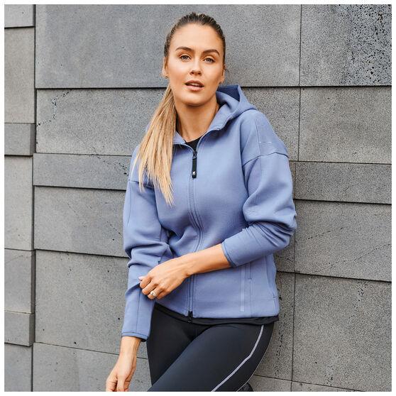 adidas Womens Z.N.E Sportswear Hoodie, Purple, rebel_hi-res