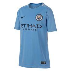 Manchester City 2018 Kids Home Jersey, , rebel_hi-res