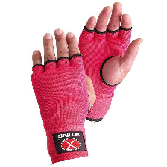 Sting Elastic Quick Wraps, Pink, rebel_hi-res