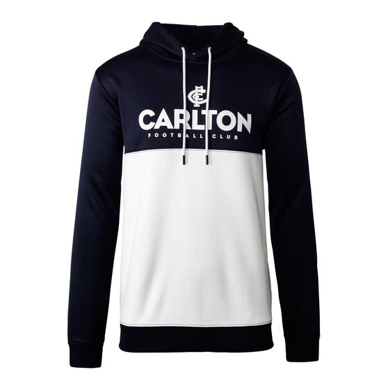 Carlton Blues 2020 Mens Ultra Hoodie, Navy/White, rebel_hi-res