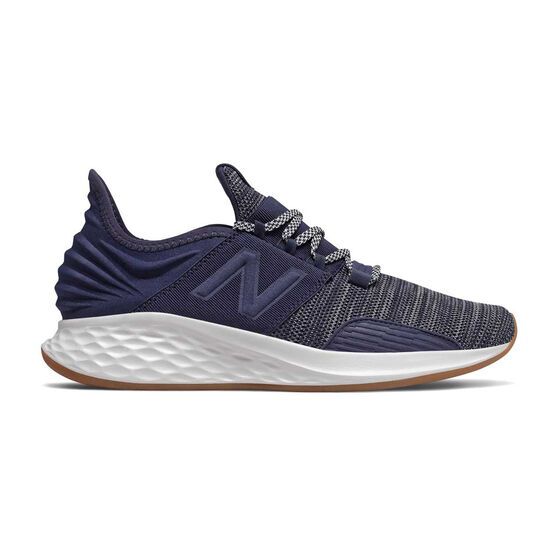 New Balance Fresh Foam Roav Mens Running Shoes, Navy, rebel_hi-res