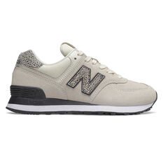 New Balance 574 Womens Casual Shoes White US 6, White, rebel_hi-res