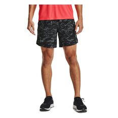 Under Armour Mens Launch 7in Running Shorts, Black, rebel_hi-res
