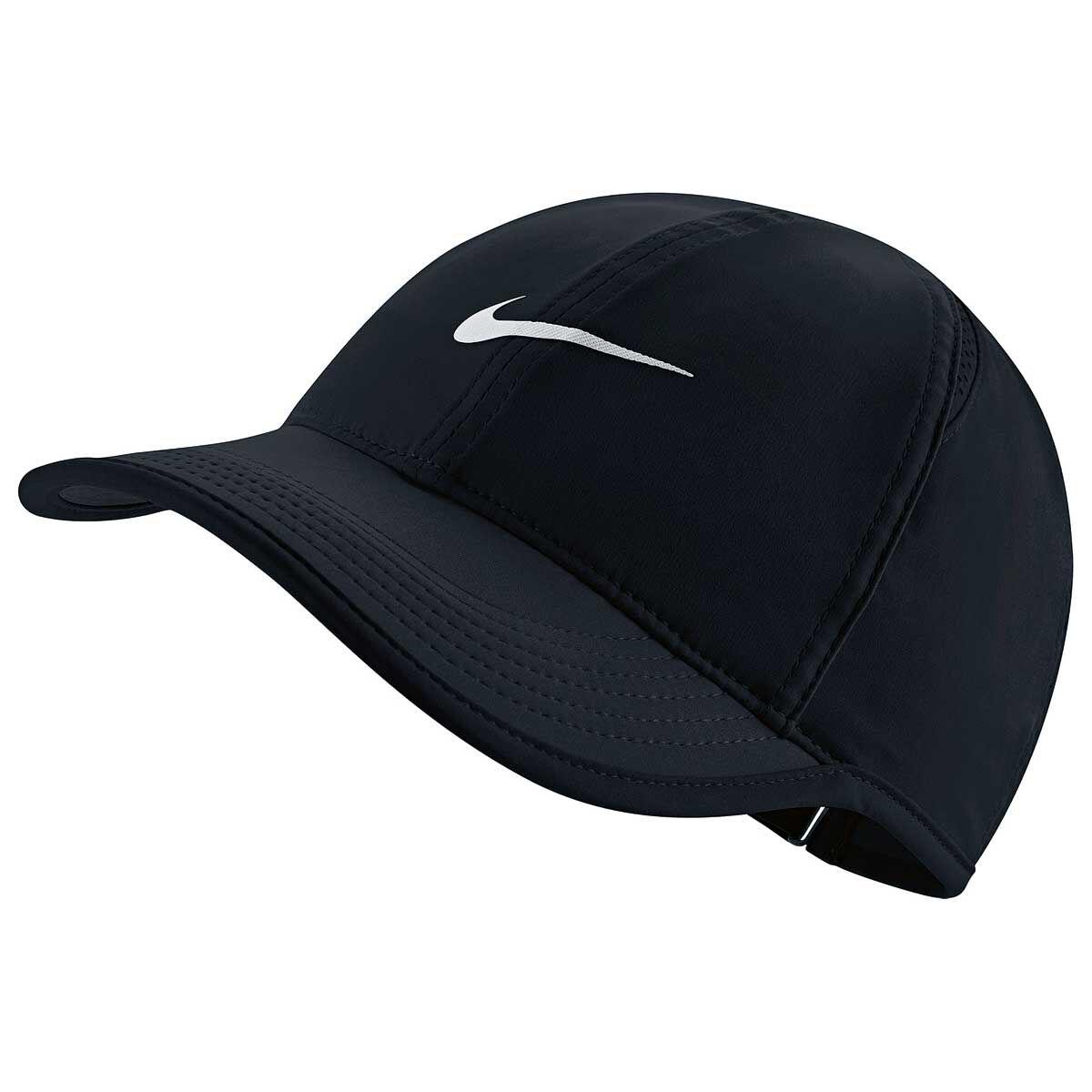 pretty nice 7ddd9 010b3 ... low price nike womens featherlight cap black white osfa rebelhi res  94eda 49e87