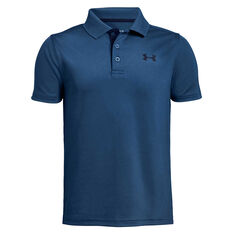 Under Armour Boys Performance Golf Polo Blue XS, Blue, rebel_hi-res