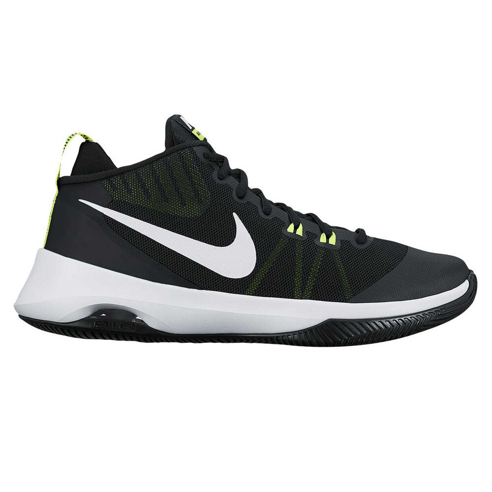 buy popular c7e93 108be Nike Air Versitile Mens Basketball Shoes Black   White US 7, Black   White,