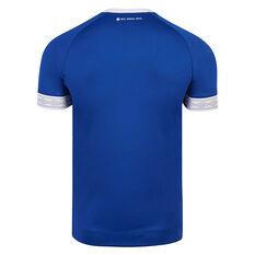 FC Schalke 04 2018 / 19 Mens Home Jersey Blue S, Blue, rebel_hi-res