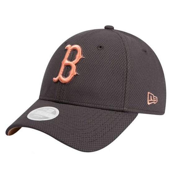 Boston Red Sox 2019 Womens New Era 9FORTY Peach Cap, , rebel_hi-res