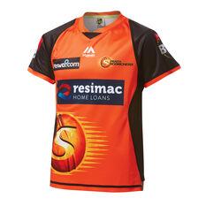 Perth Scorchers 2019 Womens BBL Jersey Orange S, Orange, rebel_hi-res