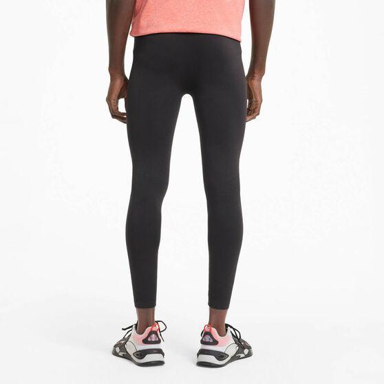 Puma Mens Seamless Bodywear Long Training Tights, Black, rebel_hi-res