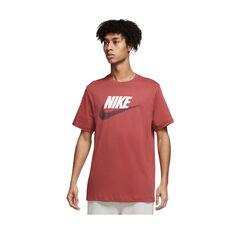 Nike Air Mens Sportswear Brand Alternate Tee Maroon XS, Maroon, rebel_hi-res