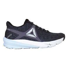 Reebok One Series Grasse Road Womens Running Shoes Grey / Black US 6, Grey / Black, rebel_hi-res