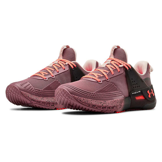 Under Armour HOVR Apex Womens Training Shoes, Pink, rebel_hi-res