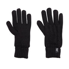 Heat Holders Womens Original Thermal Gloves Black M / L, Black, rebel_hi-res