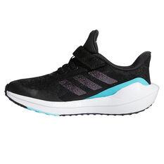 adidas EQ21 Run Kids Running Shoes Black/Pink US 11, Black/Pink, rebel_hi-res
