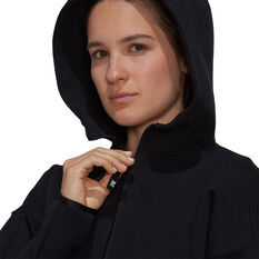 adidas Womens Z.N.E Sportswear Hoodie, Black, rebel_hi-res