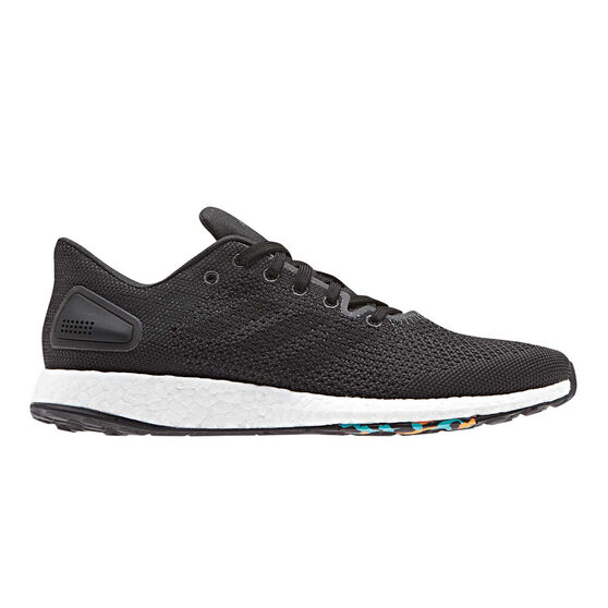 adidas PureBOOST DPR Womens Running Shoes, Black / White, rebel_hi-res
