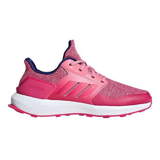 adidas RapidaRun Kids Running Shoes Berry US 6, Berry, rebel_hi-res