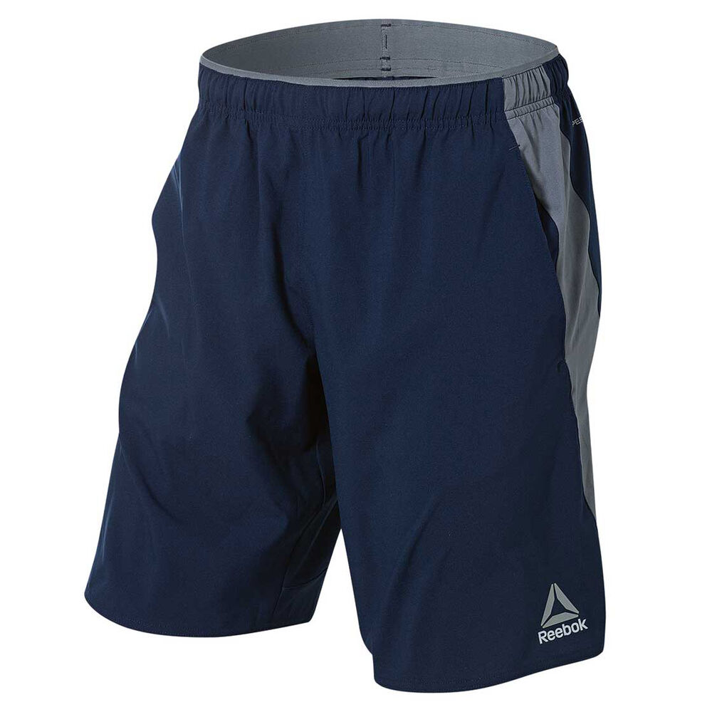 2668c2999dbb7 Reebok Mens Workout Ready Woven Training Shorts
