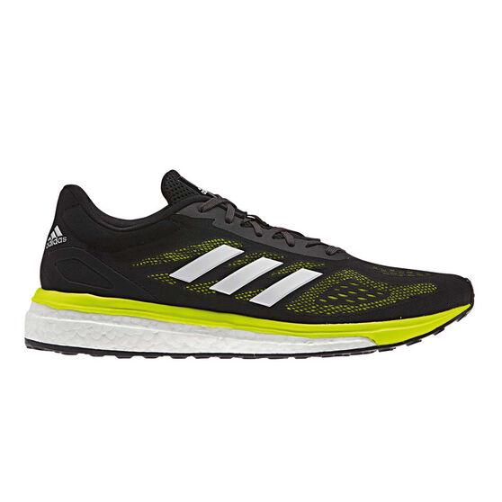 more photos df524 951bc adidas Response LT Mens Running Shoes Black   Yellow US 10, Black   Yellow,