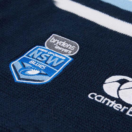 NSW Blues State of Origin 2019 Stripe Scarf, , rebel_hi-res