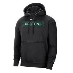 Boston Celtics Courtside Nike Mens Hoodie Black S, Black, rebel_hi-res