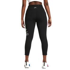 Nike Air Womens Epic Fast 7/8 Length Running Tights Black XS, Black, rebel_hi-res