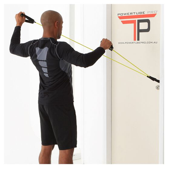 PTP PowerTube+ Light Resistance Band Lime Light, , rebel_hi-res