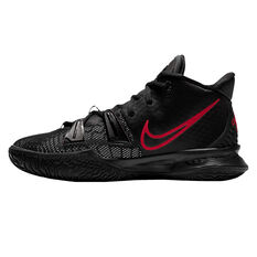 Nike Kyrie 7 Kids Basketball Shoes Black US 4, Black, rebel_hi-res