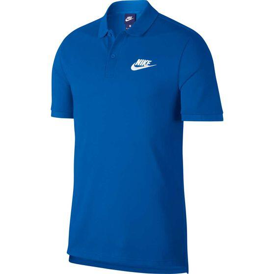Nike Mens Sportswear Matchup Polo Blue S, Blue, rebel_hi-res