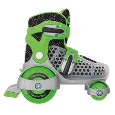 Goldcross 145 Roller Skates Green US 7-11, Green, rebel_hi-res