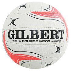 Gilbert Diamonds Eclipse M500 Netball White / Green 5, , rebel_hi-res