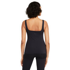 Nike Womens Yoga Luxe Tank, Black, rebel_hi-res
