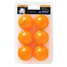 Schildkrot Jade 40mm Table Tennis Balls Orange, , rebel_hi-res