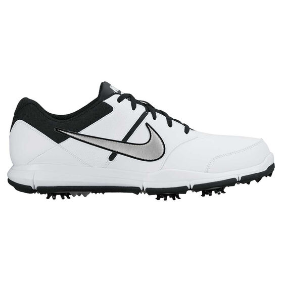 Nike Durasport 4 Mens Golf Shoes, White / Silver, rebel_hi-res