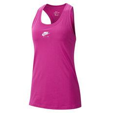 Nike Air Womens Sportswear Tank Pink XS, Pink, rebel_hi-res