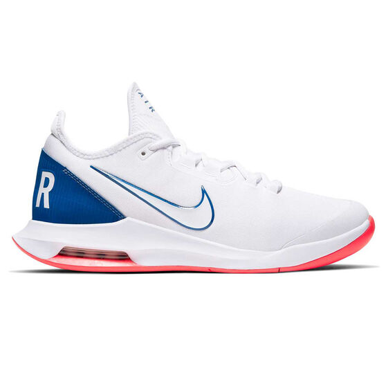 Nike Air Max Wildcard Hardcourt Mens Tennis Shoes, White / Blue, rebel_hi-res