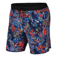 Nike Mens Flex Stride 7in Running Shorts Multi S, Multi, rebel_hi-res