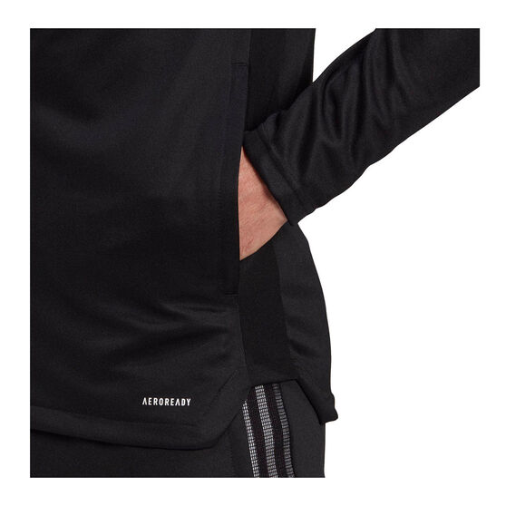 adidas Mens Tiro 21 Track Jacket, Black, rebel_hi-res