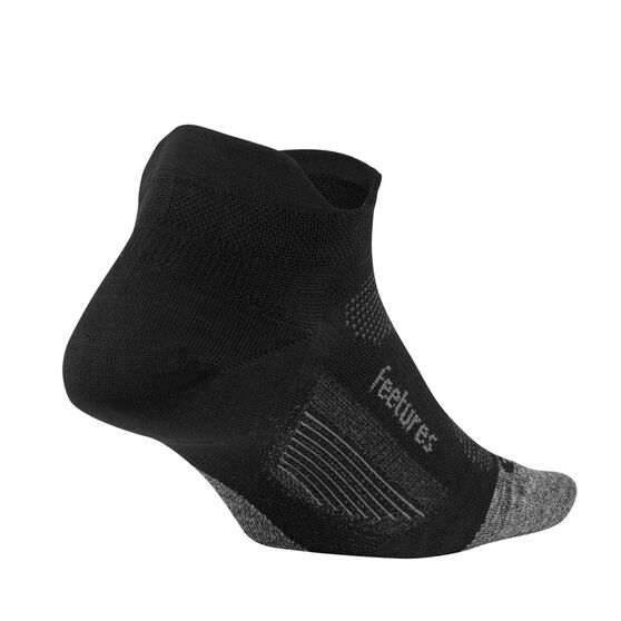 Feetures Elite Ultra Light No Show Tab Socks, Black, rebel_hi-res