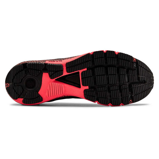 Under Armour HOVR Machina Mens Running Shoes, Black / Red, rebel_hi-res