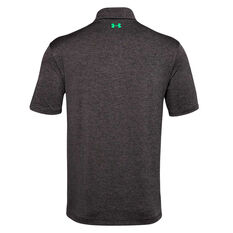 Under Armour Mens Playoff 2.0 Polo Black S, Black, rebel_hi-res