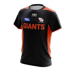 GWS Giants 2019 Mens Training Tee Grey / Orange S, Grey / Orange, rebel_hi-res
