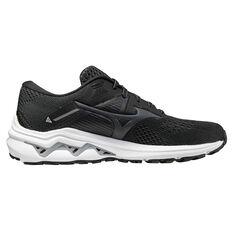 Mizuno Wave Inspire 17 2E Mens Running Shoes Black US 8, Black, rebel_hi-res