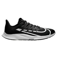 Nike Zoom Rival Fly Mens Running Shoes Black / White US 7, Black / White, rebel_hi-res