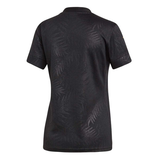 All Blacks Rugby World Cup 2019 Y-3 Womens Home Jersey, Black, rebel_hi-res